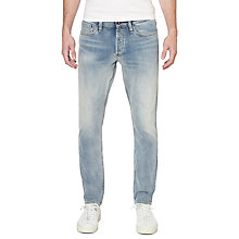 Buy Denham Razor Jeans, Light Wash Online at johnlewis.com