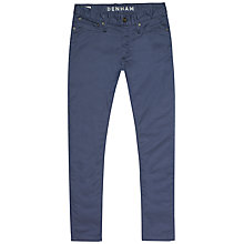 Buy Denham Razor Chino Trousers, Boro Blue Online at johnlewis.com