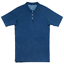 Buy Denham Joey Indigo Polo Shirt, Indigo Online at johnlewis.com