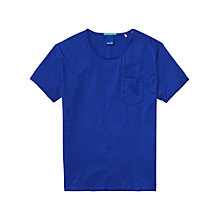 Buy Scotch & Soda Pocket T-Shirt, Cobalt Online at johnlewis.com