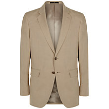 Buy Jaeger Silk Linen Classic Fit Suit Jacket, Oatmeal Online at johnlewis.com