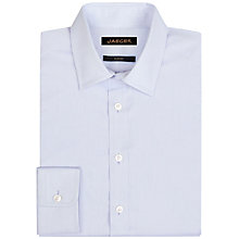 Buy Jaeger Dobby Textured Cotton Classic Fit Shirt Online at johnlewis.com