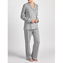 Buy DKNY Signature Pyjamas, Grey Online at johnlewis.com