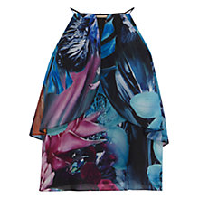 Buy Coast Maui Printed Cold Shoulder Top, Multi Online at johnlewis.com