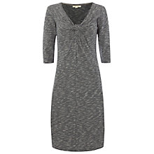 Buy White Stuff Textured Crazy Crazy Dress, Navy Online at johnlewis.com