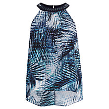 Buy Coast Arden Printed Embellished Top, Multi Online at johnlewis.com