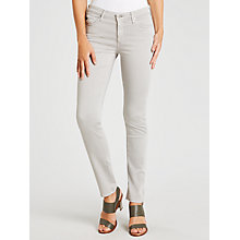 Buy AG The Sateen Prima Skinny Jeans, Sulfur Grey Dawn Online at johnlewis.com