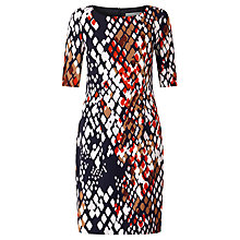 Buy BOSS Dinomi2 Printed Dress, Multi Online at johnlewis.com