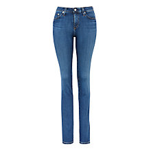 Buy AG The Harper Straight Skinny Jeans, 11 Years Pace Online at johnlewis.com