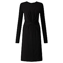 Buy BOSS Eduna Jersey Dress, Black Online at johnlewis.com