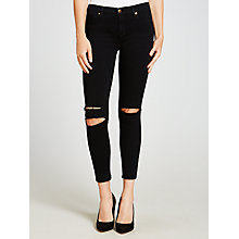 Buy J Brand Photo Ready Ankle Mid Rise Skinny Jeans, Blue Mercy Online at johnlewis.com