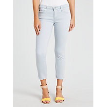 Buy AG The Stilt Cropped Skinny Jeans, Old Vintage Blue Quartz Online at johnlewis.com