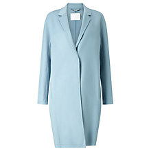 Buy BOSS Coatina Wool Cashmere Coat, Powder Blue Online at johnlewis.com