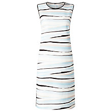 Buy BOSS Dipinta Printed Shift Dress, Multi Online at johnlewis.com