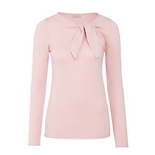 Buy Marella Garbata Knot Front Jumper, Pink Online at johnlewis.com