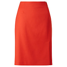 Buy BOSS Vyflena Pencil Skirt, Sienna Red Online at johnlewis.com