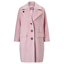 Buy Marella Sahara Textured Coat, Pastel Rose Online at johnlewis.com
