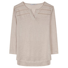 Buy Gerard Darel Cylian Linen T-Shirt Online at johnlewis.com