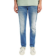 Buy Scotch & Soda Ralston Sunny Side Up Jeans, Blue/Light Wash Online at johnlewis.com