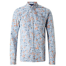 Buy Scotch & Soda All Over Print One Pocket Shirt, Blue Print Online at johnlewis.com
