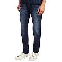 Buy Scotch & Soda Ralston Beaten Track Jeans, Blue Online at johnlewis.com