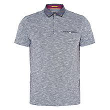 Buy Ted Baker Morean Polo Shirt, Navy Online at johnlewis.com