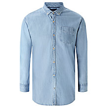 Buy Scotch & Soda One Pocket Denim Shirt, Blue Online at johnlewis.com