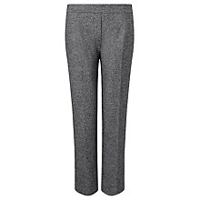 Buy Marella Ecology Tweed Trousers, Black Online at johnlewis.com