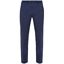 Buy Ted Baker Welltro Moulin Single Button Trousers, Blue Online at johnlewis.com