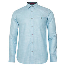 Buy Ted Baker Unclbob Micro Check Shirt Online at johnlewis.com