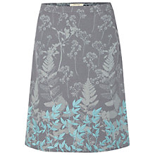 Buy White Stuff Grass Is Greener Skirt, Fossil Grey Online at johnlewis.com