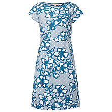 Buy White Stuff Mori Dress, Aegean Blue Online at johnlewis.com