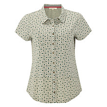 Buy White Stuff Constantine Shirt, Ceramic Green Online at johnlewis.com