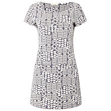 Buy White Stuff Textured Jersey Tunic, Fossil Grey Online at johnlewis.com