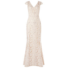 Buy Jacques Vert Embellished Lace Bridal Gown, Ivory Online at johnlewis.com