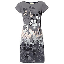 Buy White Stuff Shadowing Dress, Mono Grey Online at johnlewis.com