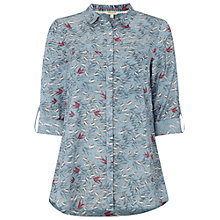 Buy White Stuff Swiftly Shirt, Aegean Blue Online at johnlewis.com