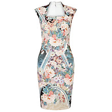Buy Phase Eight Theodora Scuba Dress, Multi Online at johnlewis.com