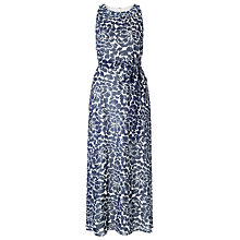 Buy Precis Petite Chiffon Maxi Dress, Blue Online at johnlewis.com