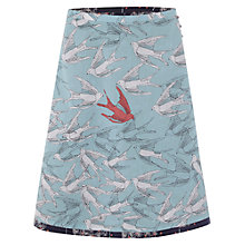 Buy White Stuff Fluttering Reversible Skirt, Navy Online at johnlewis.com