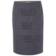 Buy White Stuff Calla Lily Skirt, Fossil Grey Online at johnlewis.com