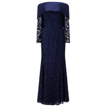 Buy Jacques Vert Lorcan Luxury Lace Dress, Navy Online at johnlewis.com
