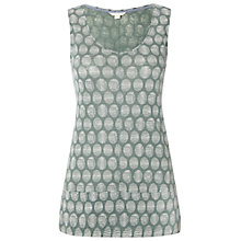 Buy White Stuff Creation Vest, Ceramic Green Online at johnlewis.com