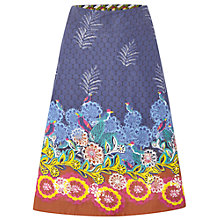 Buy White Stuff Salsa Reversible Skirt, Dahlia Purple Online at johnlewis.com