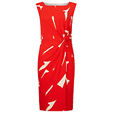 Buy Phase Eight Costa Rica Print Dress, Red/White Online at johnlewis.com