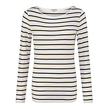 Buy Jigsaw Foundation Retro Stripe Jersey T-Shirt Online at johnlewis.com