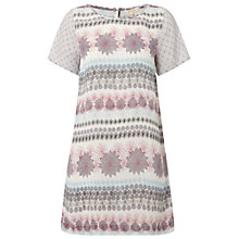 Buy White Stuff Summer Sky Tunic Dress, Ivory/Cream Online at johnlewis.com