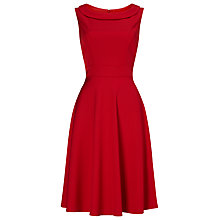 Buy Phase Eight Nicole Dress, Scarlet Red Online at johnlewis.com