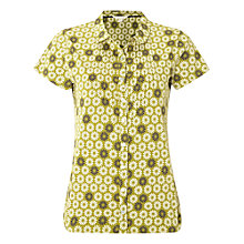 Buy White Stuff Daisy Jersey Shirt, Pickle Green Online at johnlewis.com