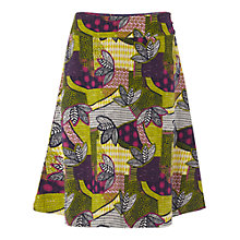 Buy White Stuff Sombrero Reversible Skirt, Sand Yellow Online at johnlewis.com